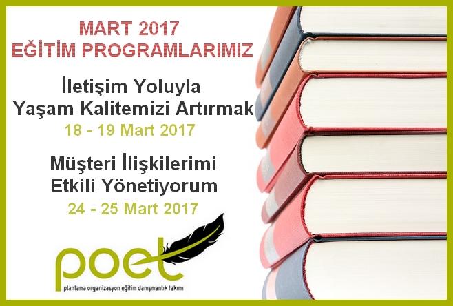 POET EĞİTİM VE DANIŞMANLIK MERKEZİ - GENEL KATILIMA AÇIK EĞİTİM PROGRAMLARI - www.poet.com.tr